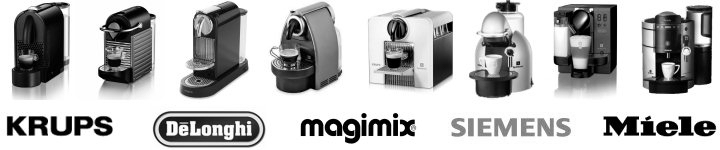 Machines compatibles Nespresso